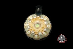 Dot Stack Pendant With Opal