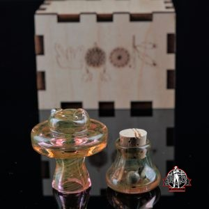 Teurfs Fumed Spinner Cap # 2