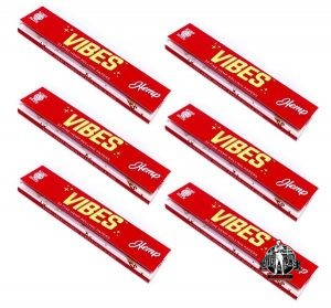 Vibes Rolling Papers – King Size Hemp