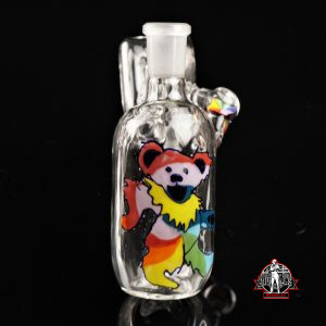 Stringbeansglass Dancing Bear Dry Catcher 14/45